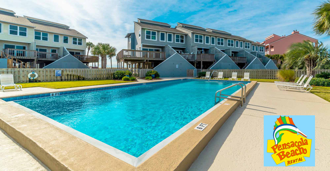 Pensacola Beach Vacation Townhome Rental